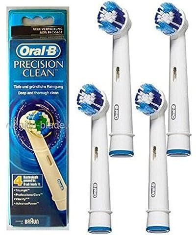 OralB Aufsteckbürsten PRECISION CLEAN, runder Bürstenkopf