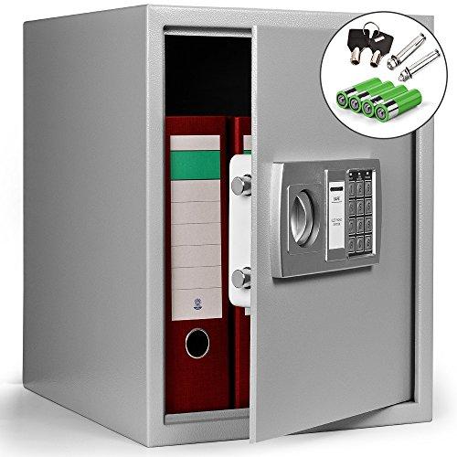 Dokumententresor 35x40x40cm - Safe Tresor Möbeltresor mit Elektronikschloss