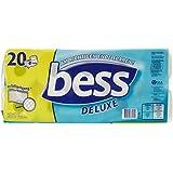 Bess Deluxe Toilettenpapier 4 Lagen, 20 x 150 Blatt