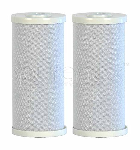 Purenex 2C-10B Big Blue Whole House Block Activated Carbon Water Filters, 10-Inch, 2-Pack by Purenex -