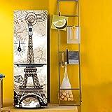 yazi HD a getto d' inchiostro adesivi decorativi frigorifero congelatore mobili armadi Tower 58,4x 180,3cm