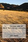 Quiero ser un Best Sellers en amazon
