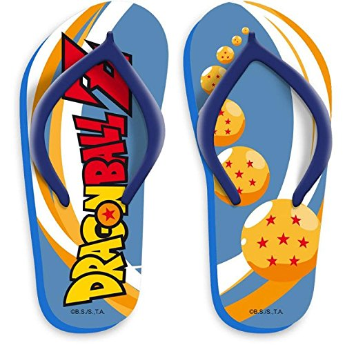 CHANCLAS PARA PISCINA O PLAYA DRAGON BALL Z
