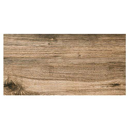 MUSTER der Holzoptik Terrassenplatten Wood Nussbaum 45x90cm frostsicher