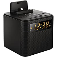 Philips AJ3200/05 Clock Radio with Android/Apple Dock (Black)