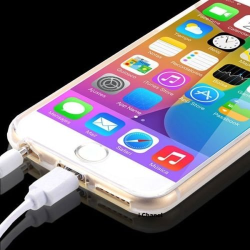 VPOWER® iPhone 6 (4,7 Zoll) Hülle TPU Case Schutzhülle Silikon Crystal Case Cover Klar Durchsichtig iPhone 6 TPU