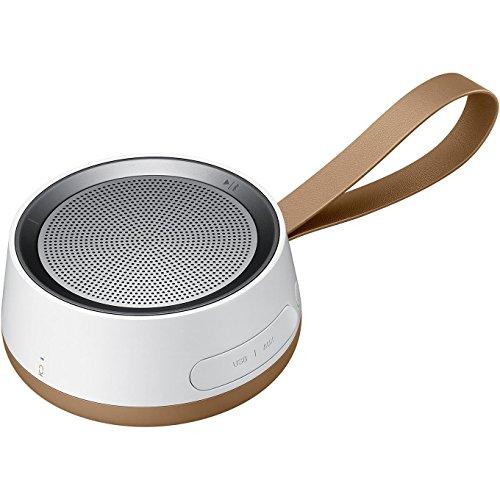 Samsung-Scoop-Enceinte-portable-sans-fil-avec-Connexion-Bluetooth-BlancBrun
