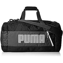 Puma Fundamentals Sports Bag M II Bolsa de Deporte, Unisex, Puma Black, OSFA