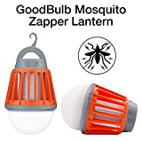 Sanreneng Zwei Campinglampe Mückenkiller LED Moskito Killer Anti-Moskito Latern Wasserdicht Tragbare Zeltlampe USB Aufladbare Insektenschutz 2000mAh