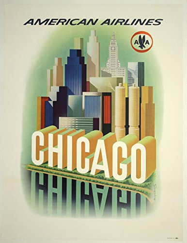 american-airlines-chicago-extra-large-semi-gloss-print