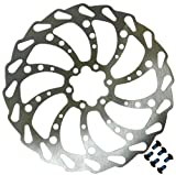Clarks 180mm Wavey Bicycle Cycling Bike Disc Brake Rotor Size: 180mm
