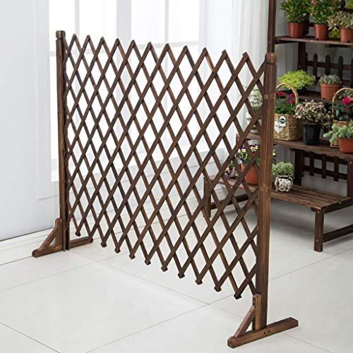 Fence H-Zaun Staketenzaun Garten-Zaun-Erweiterung Zaun Garten Bildschirm Trellis Stil ERWEITERT 1.2M Außendekoration Leitschiene (Size : 80 * 120cm)