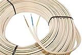 Gummi-Stegleitung NYIF-J 3x1,5mm² Kabel | 50m Ring, 3 adriges Installationskabel nach DIN VDE 0250-201 - im Karton verpackt
