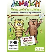JANOSCH - Meine große Vorschulbox: Rechnen, Sachwissen, Logisches Denken