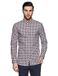 Jack & Jones Mens Casual Shirt (5713029725292_12111945Beige_XX-Large)
