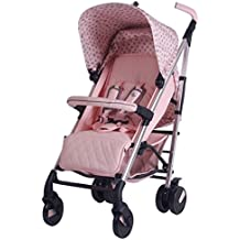 My Babiie Katie Piper MB51 Pink Hearts Stroller - Includes Raincover