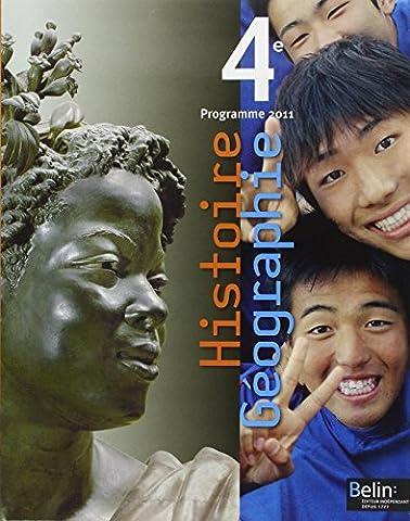 Histoire Géographie 4e : Programme