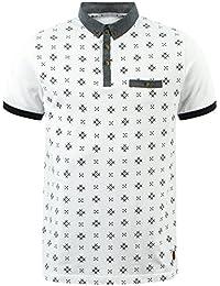 62e2860b D-Code Mens Polo Shirt T-Shirt Top Graphic Pattern Short Sleeve Summer Class
