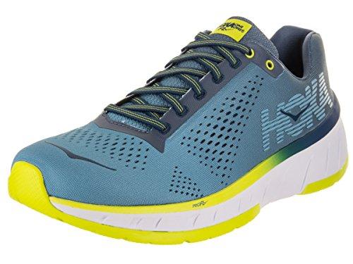 Hoka One One Bondi 5, Zapatillas de Running para Mujer, Azul (Blue Jewel/Acid), 38 2/3 EU amazon-shoes el-azul Deportivo
