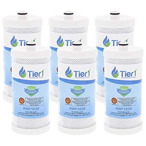 6Pack Tier1WF1CB Frigidaire Puresource, WFCB, RG100, WF284, ngr2000, Kenmore 469906, 469910Ersatz Kühlschrank Wasser Filter 6-Pack - Frigidaire-wasser-filter-zubehör