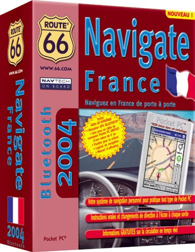 Route 66 Navigate France 2004 Bluetooth (pour Pocket PC)