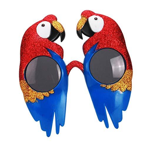 Kostüm Ara Blau Kind - sharprepublic Rot Blau Ara Vogel Sonnenbrille Brille Nacht Party Kostüm Prop