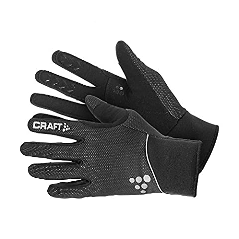 Craft Touring Gloves Handschuh, Schwarz, Gr. 10 (Herstellergröße: