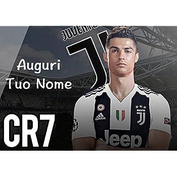 Partycolare Cialda per Torta Cristiano Ronaldo Juventus Juve , da  Personalizzare , juve040