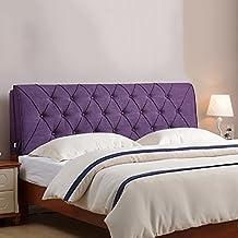 GUOWEI cabecero cojines Funda de cama de tela suave Soft almohada cama almohada respaldo almohada cama suave cojines triangulares ( Color : F , Tamaño : 160*60*10CM )