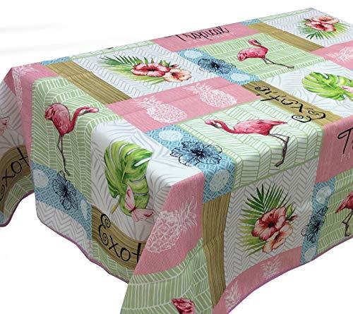 CIRAD Manteles Flamingo Estampados Antimanchas Colores