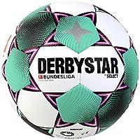 DERBYSTAR 2020/2021 Bundesliga Mini Soccer Ball, White, Size 1
