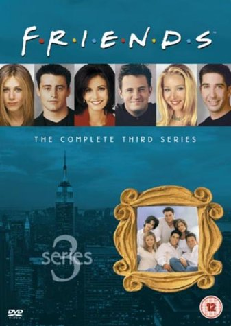 Click for larger image of Friends: Complete Season 3 - New Edition [DVD] [1995]