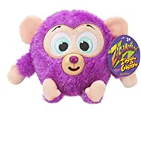 Zigamazoo New Snuggables Ziggle and Giggle Soft Teddy Toy 3+ purple by Zigamazoo