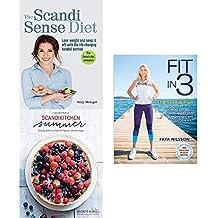 Scandi sense diet [flexibound], scandikitchen summer [hardcover] and fit in 3 the scandi plan 3 books collection set
