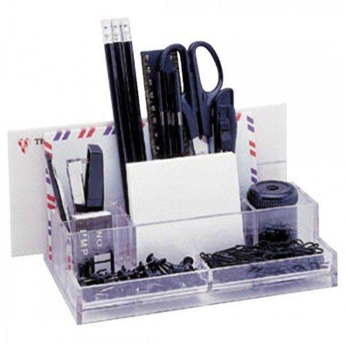 alevar-desktop-halterung-mit-15-zubehor-heftgerat-heftklammern-lineal-15-cm-meissel-cutter-3-bleisti