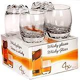 4 x Whisky Glasses 255ml