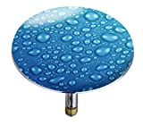 Wenko 21844100 Badewannenstöpsel Pluggy XXL Waterdrops
