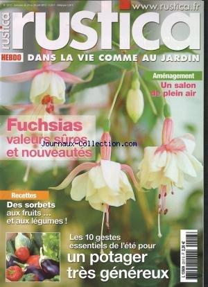 RUSTICA HEBDO [No 2217] du 20/06/2012