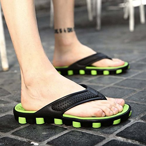 ZXCV Scarpe all'aperto Pattini a maniche per le scarpe da uomo Verde