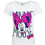 Disney Minnie Mouse T-Shirt, Art. 4093, weiß, Gr. 104