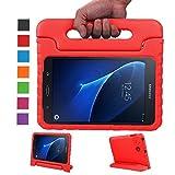 LEADSTAR Kinds Funda para Samsung Galaxy Tab A 7.0 caso niños EVA destinado a prueba de golpes cubierta estuche protector caso para Samsung Tab A SM-T280 T285 7.0 Pulgadas - Rojo
