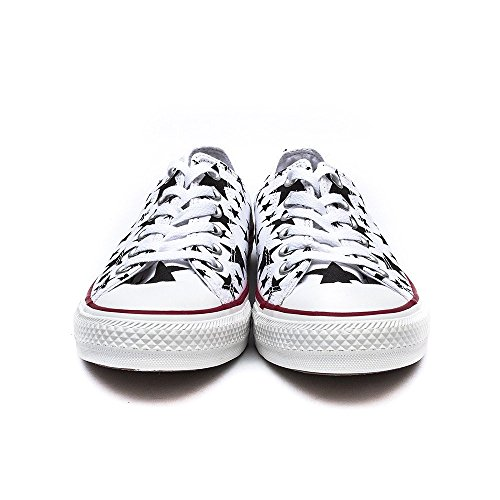 Converse Ctas Core Ox, Baskets mode mixte adulte - white/black