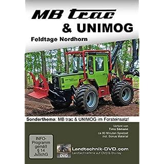 MB trac & Unimog Feldtage Nordhorn - Sonderthema Forsteinsatz, 1 DVD