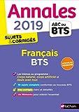 Annales BTS 2019 Français