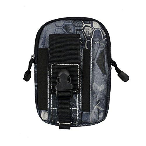 ZYT Outdoor Sport Pocket Herren 5.5/6 Zoll wasserdichte Handy Tasche Paket ausführen Beine Black