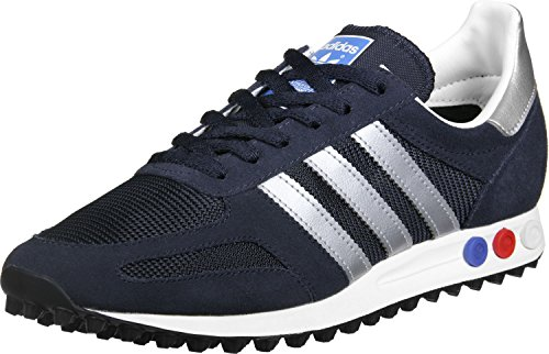 adidas la Trainer Og, Scarpe da Ginnastica Basse Uomo, Blu (Legend Ink/Matte Silver/Night Navy), 43 1/3 EU