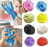 Bescita Flauschige Floam Slime Duft-Stress Relief Kein Borax Kinder Spielzeug Schlamm EDC Focus ADHD Autism Spielzeug (orange)
