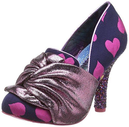 Irregular Choice Ooh La La, Zapatos de tacón con Punta Cerrada para Mujer, Rosa (Pink A), 39 EU