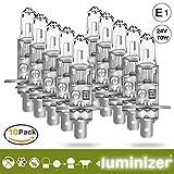 LUMINIZER® autolampe H1 10x H1 24V 70W HALOGEN LAMPEN scheinwerfer Abblendlicht E1P14.5S
