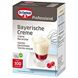 Dr. Oetker Professional Bayerische Creme, Dessertcreme, Dessertpulver in 1 kg Packung